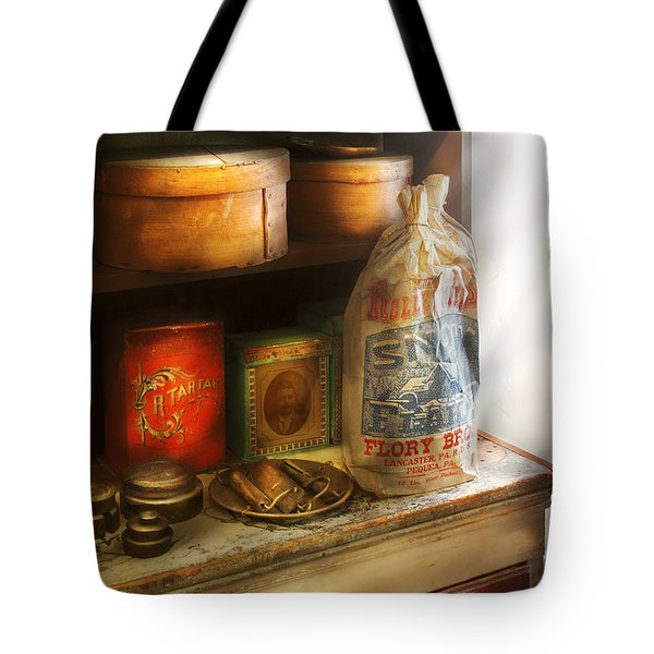 Food - Kitchen Ingredients Tote Bag by Mike Savad