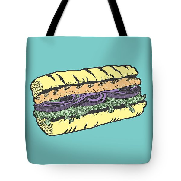Food Masquerade Tote Bag by Freshinkstain