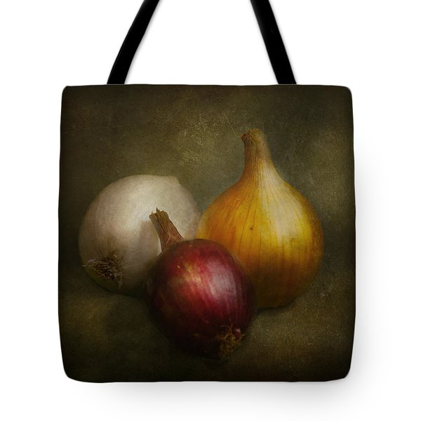 Food - Onions - Onions  Tote Bag by Mike Savad