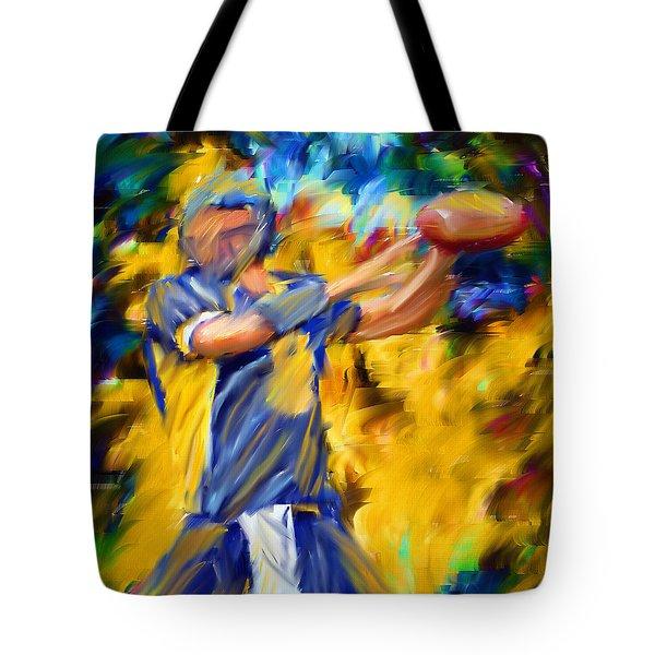 Football I Tote Bag by Lourry Legarde