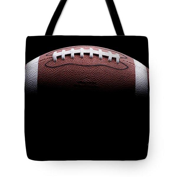 Football Painting Tote Bag by Jon Neidert