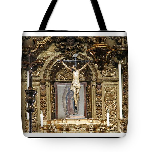 For Our Sins Tote Bag by Shoal Hollingsworth