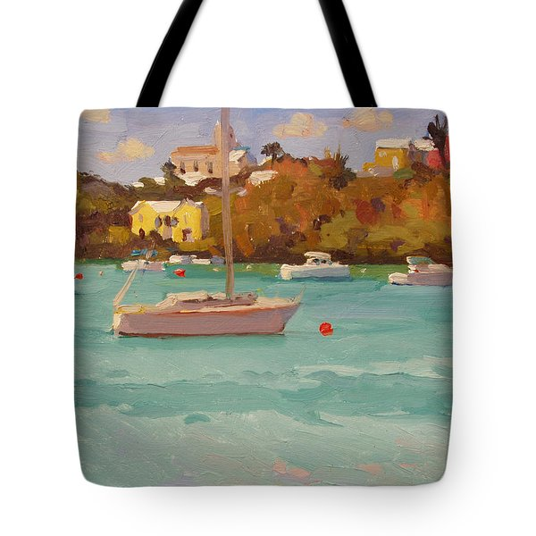 For Sail Tote Bag by Dianne Panarelli Miller
