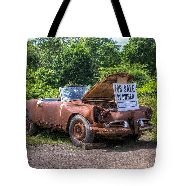 For Sale By Owner Tote Bag by Rick Kuperberg Sr
