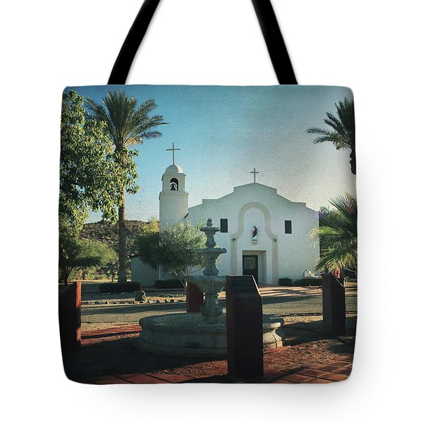 For Whom The Bell Tolls Tote Bag by Laurie Search