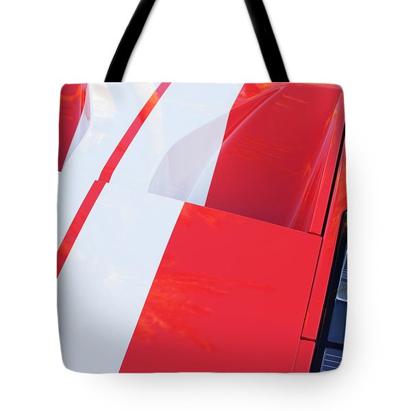 Ford Gt40 Sports Car Tote Bag by Jill Reger