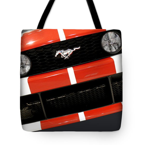 Ford Mustang - This Pony Is Always In Style Tote Bag by Christine Till