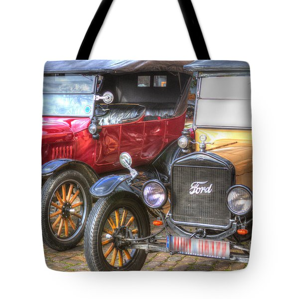 Ford-t  Mobiles Of The 20th Tote Bag by Heiko Koehrer-Wagner