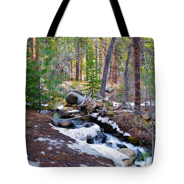 Forest Creek 4 Tote Bag by Brent Dolliver