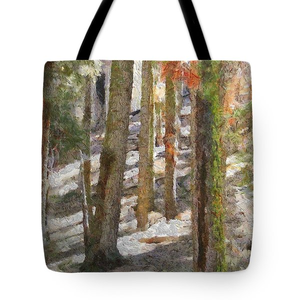 Forest for the Trees Tote Bag by Jeff Kolker
