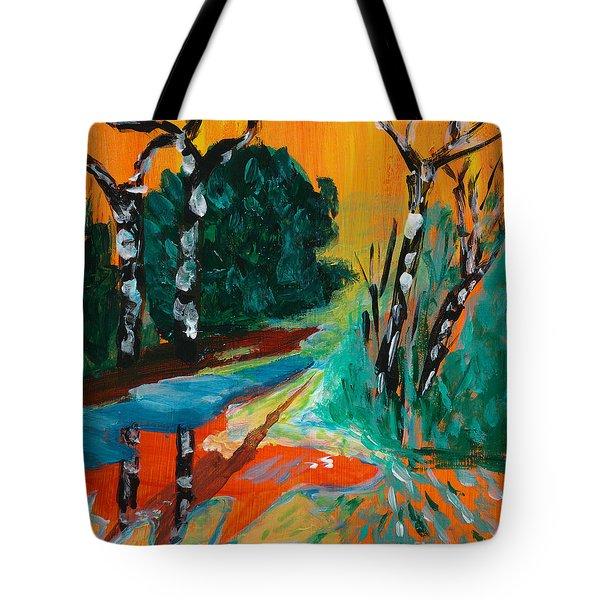 Forest Path Miniature Tote Bag by Lidija Ivanek - SiLa