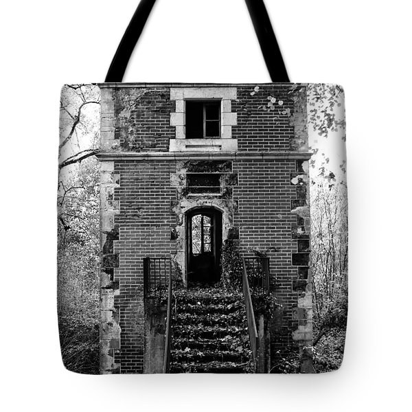 Forest Tower Tote Bag by Nomad Art And  Design