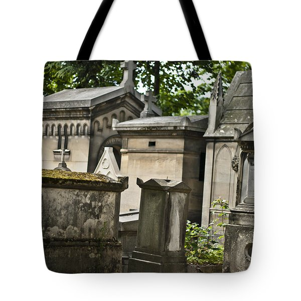 Forever In Paris Tote Bag by Nomad Art And  Design