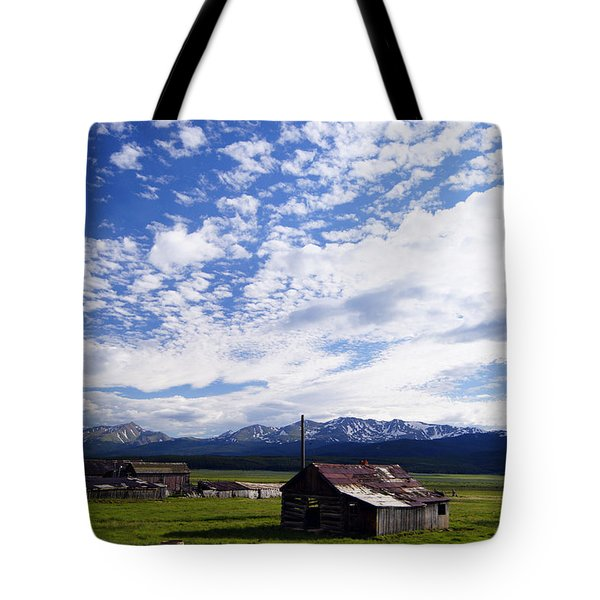 Forever Sky Tote Bag by Jeremy Rhoades