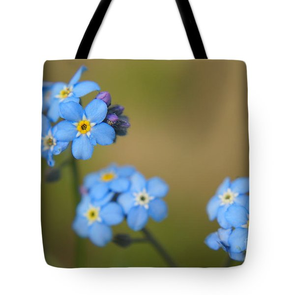 Forget Me Not 01 - S01r Tote Bag by Variance Collections