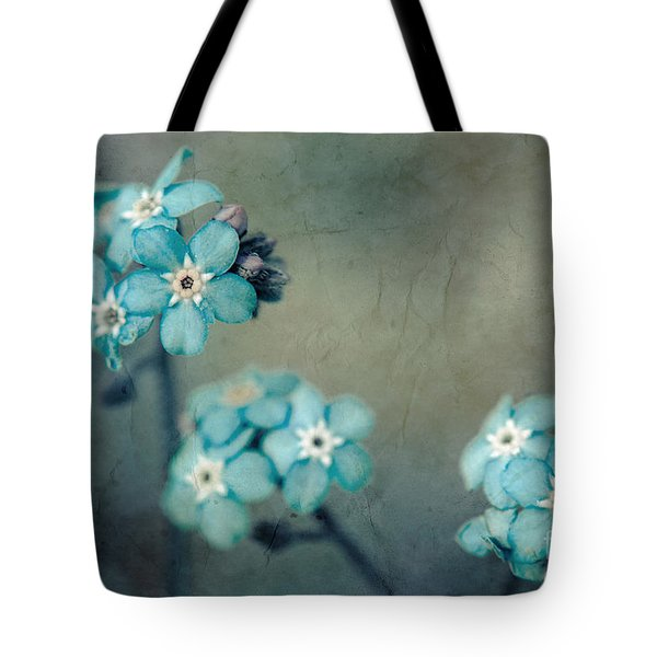 Forget Me Not 01 - s22dt06 Tote Bag by Variance Collections