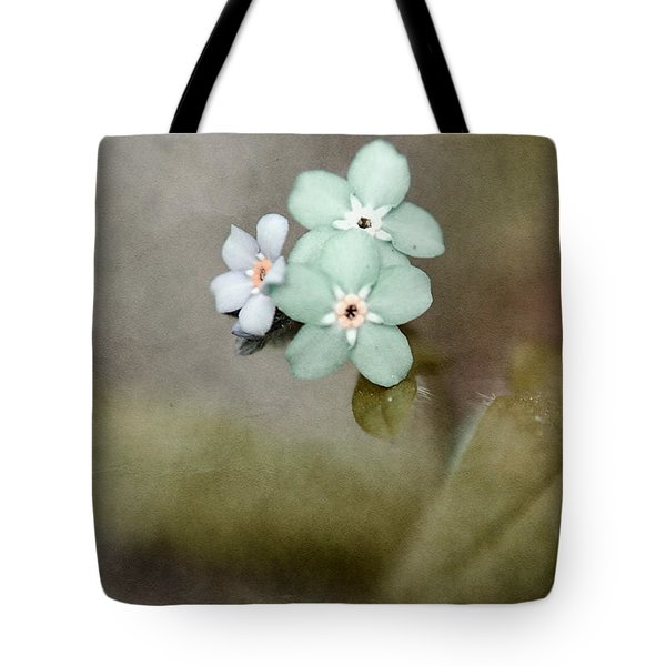 Forget Me Not 03 - S07bt07 Tote Bag by Variance Collections