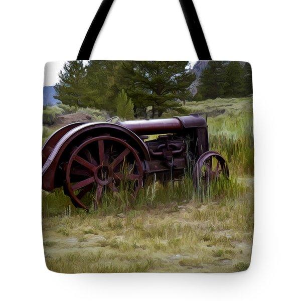 Forgotten Tote Bag by David Kehrli