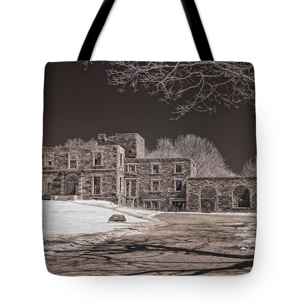Forgotten Fort Williams Tote Bag by Joann Vitali