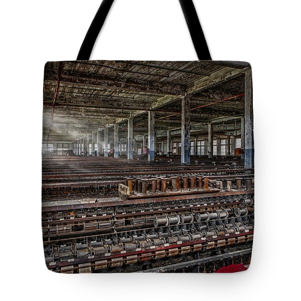 Forgotten Silk Mill Tote Bag by Susan Candelario
