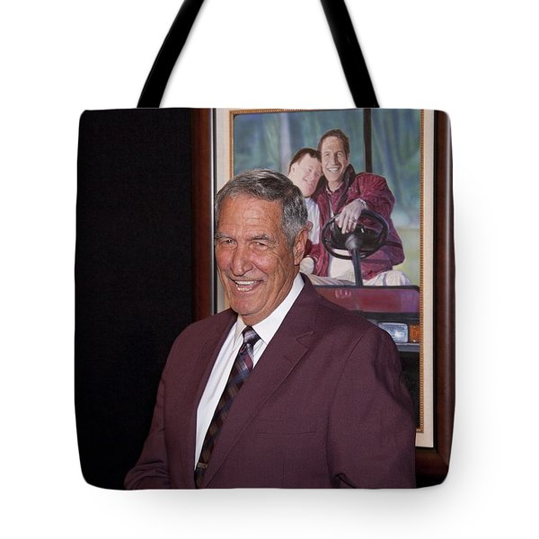 Former Coach of Alabama Gene Stallings Tote Bag by Mountain Dreams