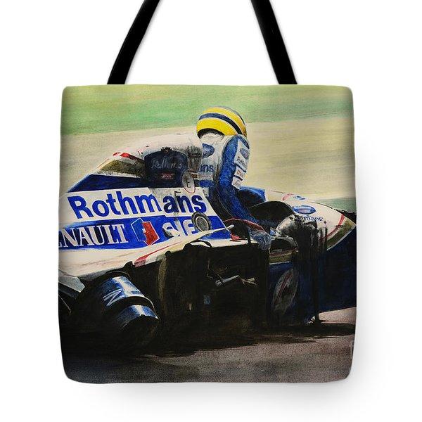 Formula - Alone Tote Bag by Oleg Konin