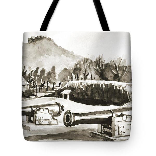 Fort Davidson Cannon IIi Tote Bag by Kip DeVore