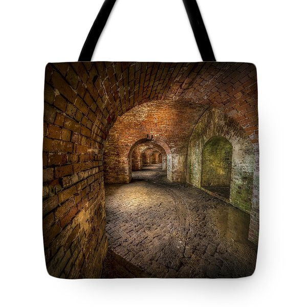 Fort Macomb Tote Bag by David Morefield