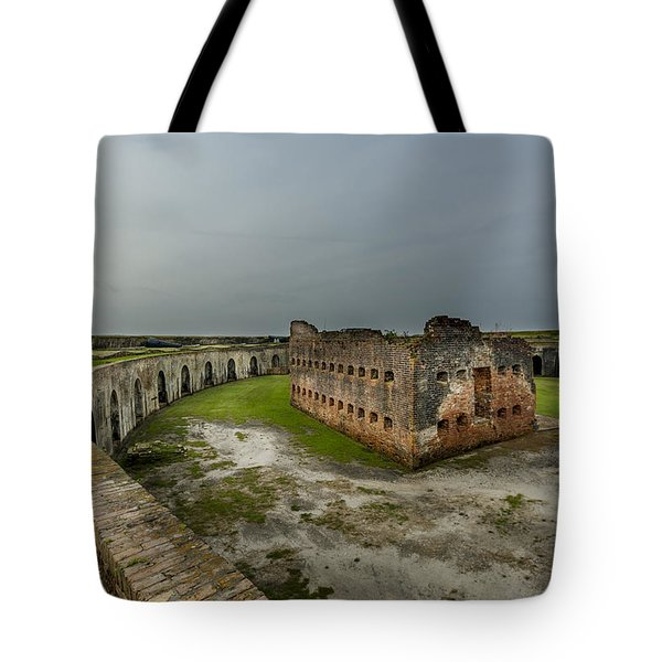 Fort Pike Tote Bag by David Morefield