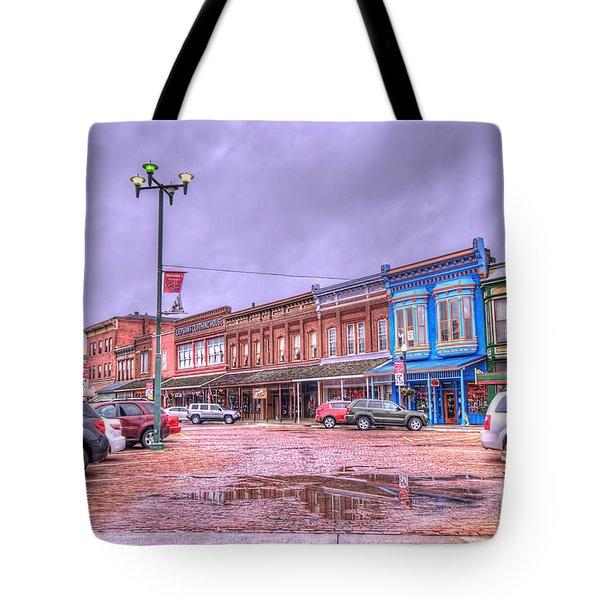 Fort Scott - Kansas Tote Bag by Liane Wright