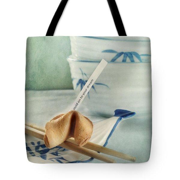 Fortune Cookie Tote Bag by Priska Wettstein