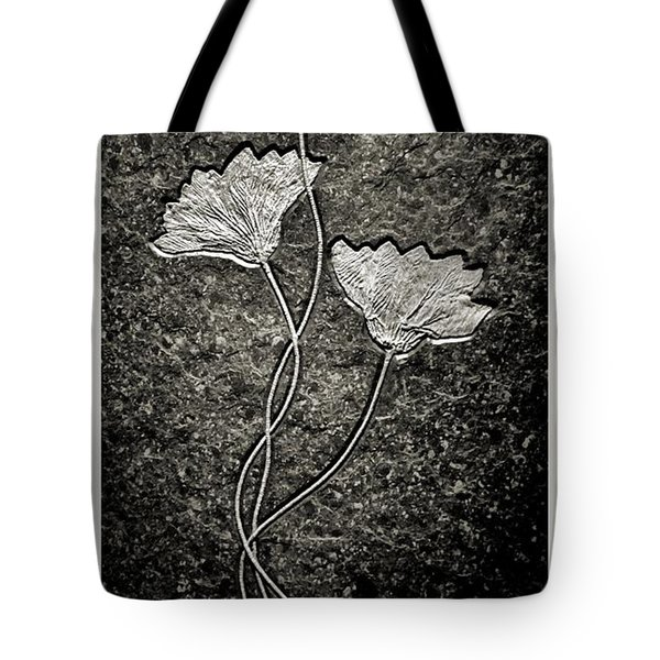 Fossilized Flowers Tote Bag by Dan Sproul