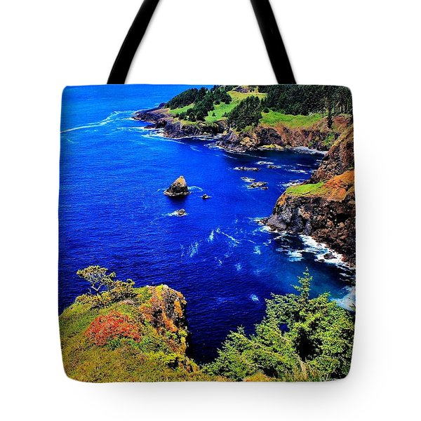 Foulweather Tote Bag by Benjamin Yeager