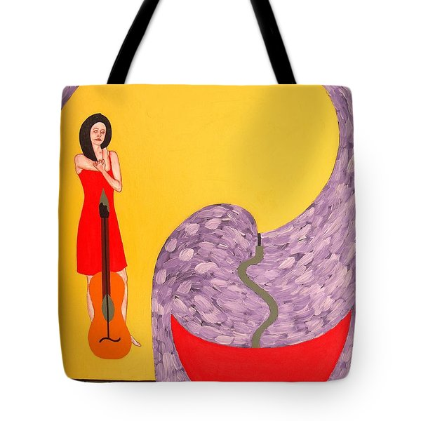 Fountain Of Creativity Tote Bag by Patrick J Murphy