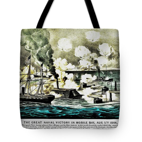 Four Bells Full Speed Tote Bag by Benjamin Yeager