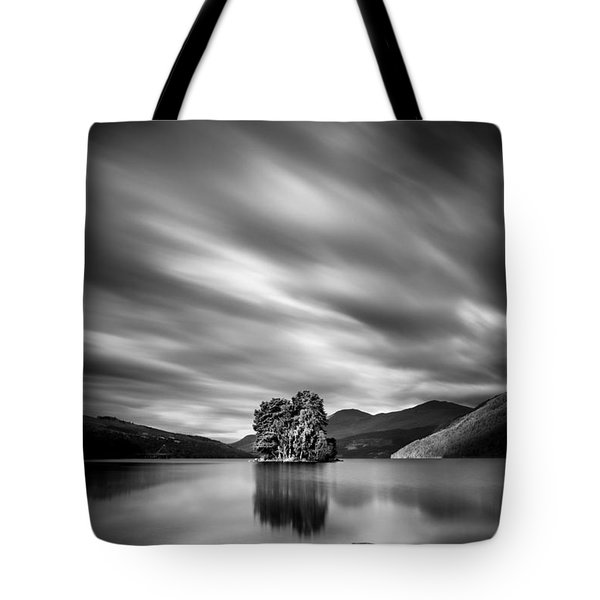 Four Rocks Tote Bag by Dave Bowman