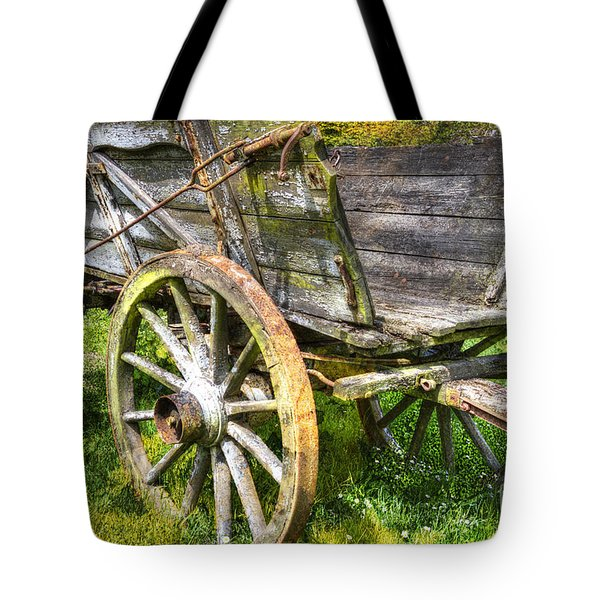 Four Wheels But No Horse Tote Bag by Heiko Koehrer-Wagner