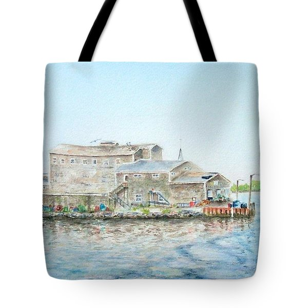 Fournier's Marine Tote Bag by Michael McGrath