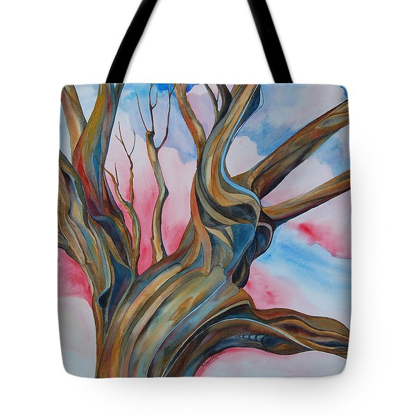 Fourth of July - the Happy Tree Tote Bag by Roy Erickson