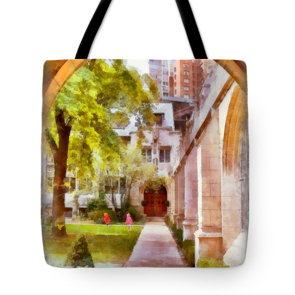Fourth Presbyterian - A Chicago sanctuary Tote Bag by Christine Till