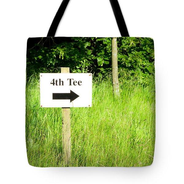 Fourth Tee Tote Bag by Tom Gowanlock