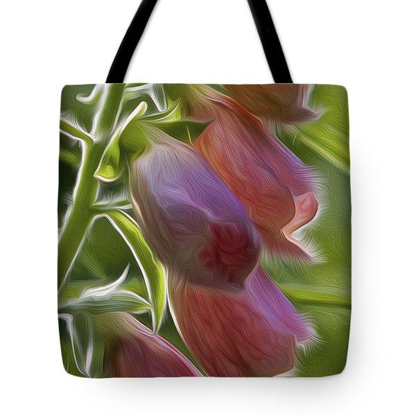 Foxglove Tote Bag by Bill  Wakeley