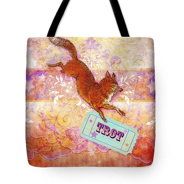 Foxtrot Tote Bag by Aimee Stewart