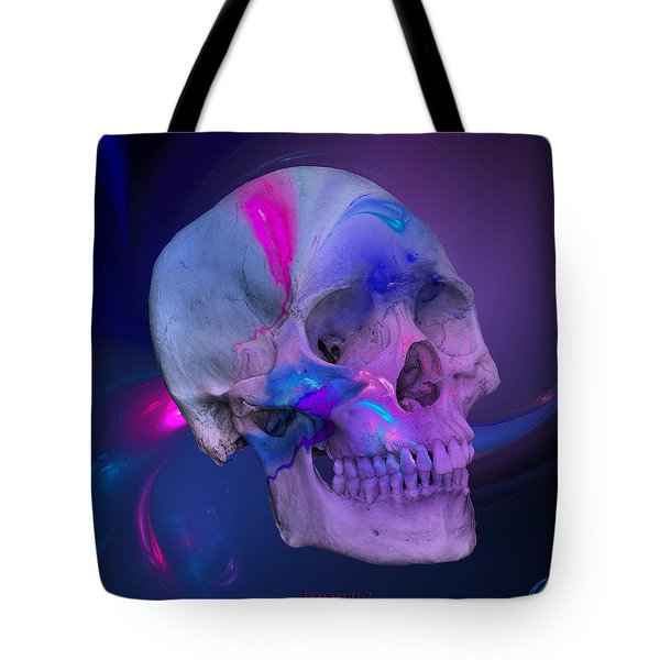 Fracskull 2 Tote Bag by Chris Thomas