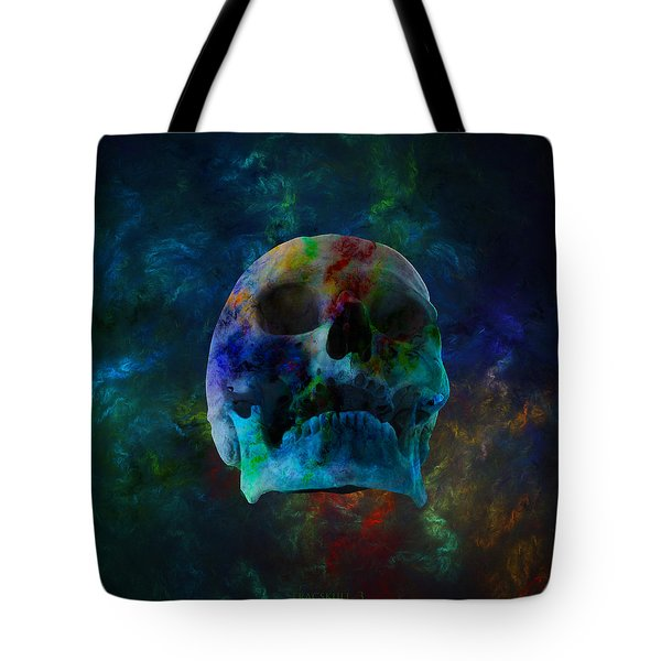 Fracskull 3 Tote Bag by Chris Thomas