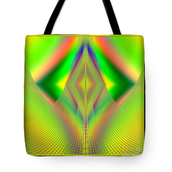 Fractal 32 Up Up And Away Tote Bag by Rose Santuci-Sofranko