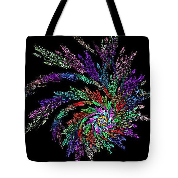 Fractal 4 Tote Bag by Mikki Cucuzzo