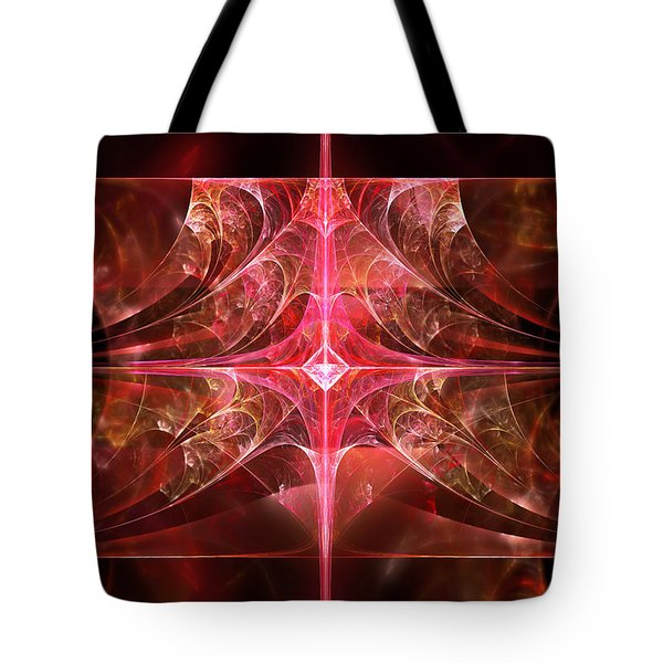 Fractal - Abstract - The essecence of simplicity Tote Bag by Mike Savad