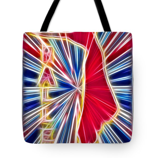 Fractal Ballet Tote Bag by David G Paul