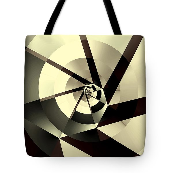 Fracture Tote Bag by Kevin Trow